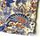 Thumbnail: Bandana -  Yellow Blue Paisley Printed Cotton / Headband