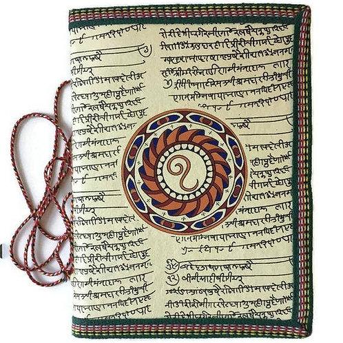 Handmade Paper Journal - Zodiac Gift Leo Yellow Journal Gift
