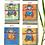 Thumbnail: Handmade Paper Journal - Set of 4 Ganesha Cover - Yoga Gift