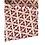 Thumbnail: Bandana- Hand Block Brown Floral Print Cotton/ Head Covering