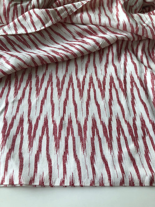 Ikat print fabric, Fabric By the Yard, Rayon flex fabric, ikat print, Indian Fab