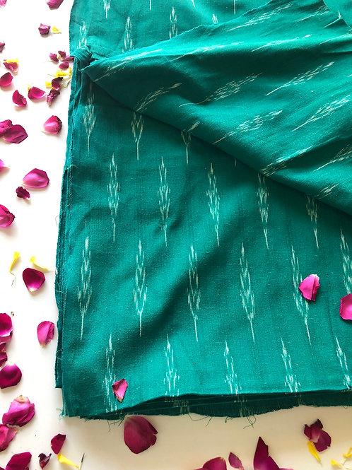 copy of copy of copy of copy of Ikat Woven fabric, Indian Cotton, Boho Fabric, I