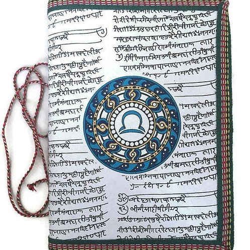 Handmade Paper Journal - Libra Astrological Zodiac Gift