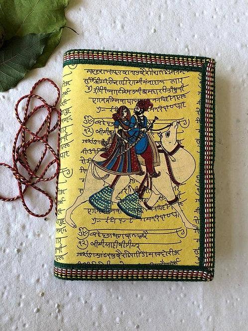 Handmade Paper Journal - Royal Couple on Camel - Set of 4