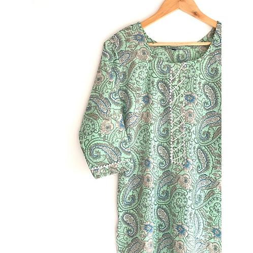 Kurti Long - Cotton Tunic, Long Kurti, Tunics for women