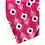 Thumbnail: Bandana - Pink Cotton with Ikat Print / Face Covering