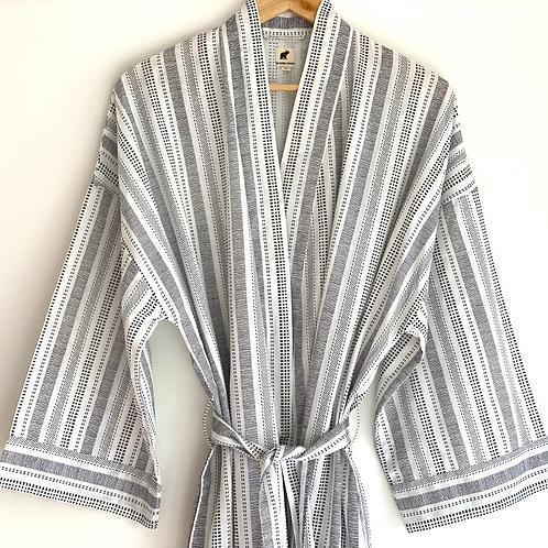 Robe Long - Unisex Men's full length Lounge Sleep Wear + Bag