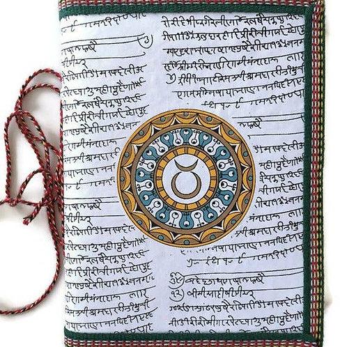 Handmade Paper Journal - Taurus Journal Zodiac Gift