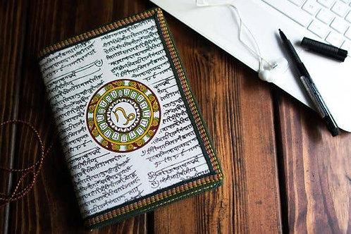 Handmade Paper Journal - Scorpio Astrological Zodiac XL