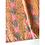 Thumbnail: Bandana Orange gray Floral Block Printed Cotton / Headband