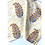 Thumbnail: Bandana - Block Print mughal yellow flower Cotton