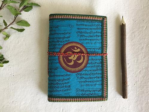 Yogi Journal, Blank Diary, Art Journal, Yoga journal, OM Chakra, OM, Plain Diary