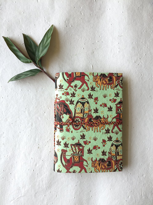 Pale Green Journal, Scrapbook Journal, Writing Journal, Yoga journal, Junk