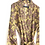 Thumbnail: Robe Long - Brown Peace Block Print/ Resort / Lounge Wear