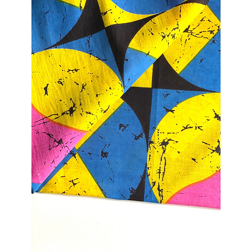 Bandana - Geomatric Block print Cotton Table Napkin