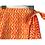 Thumbnail: Wrap Skirt -  block print with border/ wraparound skirt