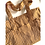 Thumbnail: Tote Bag - Large Fabric Bag with Box Gusset - 2 side pockets