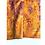 Thumbnail: Bandana - Brown Floral Block Printed rayon / Headband