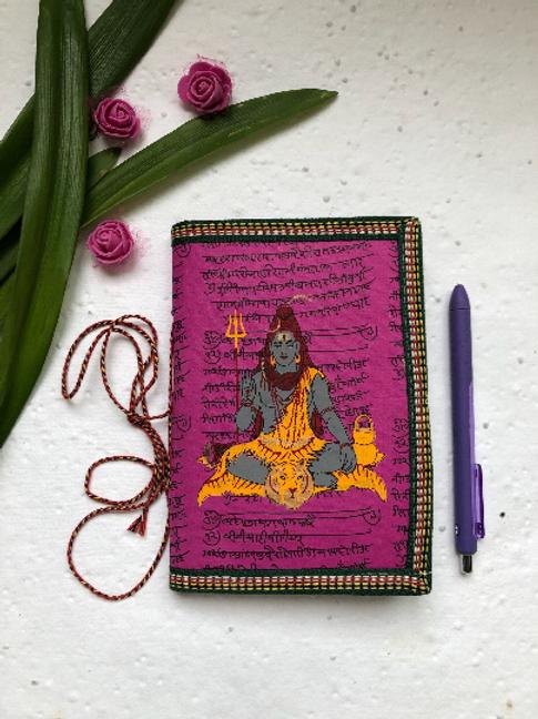 Handmade Paper Journal - Shiva Cover - Set of 4 Gifts