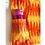 Thumbnail: Tote Bag - Large Fabric Bag - Box Gusset - flame - 2 pocket