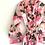 Thumbnail: Robe / Kimono  - Pink+ Black Lounge wear + matching bag + mask