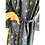 Thumbnail: Robe / Kimono  - Black Gold Block Print / Resort Beach Wear