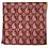 Thumbnail: Bandana -  Dark Brown Floral Block Printed rayon / Headband