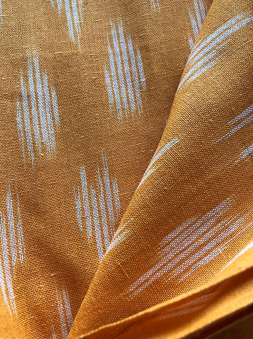 copy of copy of copy of Ikat Woven fabric, Indian Cotton, Boho Fabric, Ikat fabr