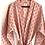 Thumbnail: Robe /Kimono  - Grey and Peach Lounge wear + matching bag