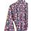 Thumbnail: Robe  / kimono - Blue Block Print Lounge wear + matching bag