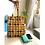 Thumbnail: Tote Bag - Large Fabric Bag - Box Gusset - yellow - 2 pocket