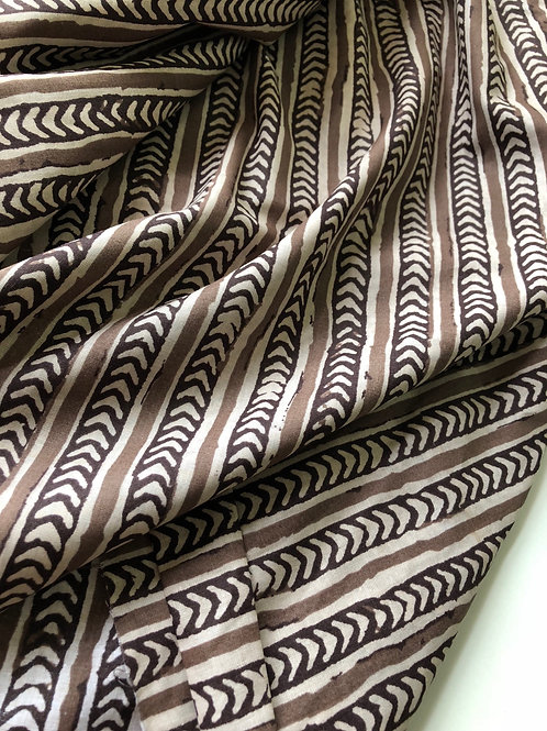 Indian Fabric, Arrow Print, Fabric by the yard, Tribal Print Fabric, Boho Print