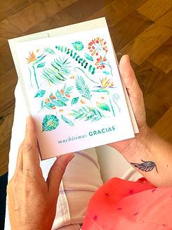 015-Tarjetas de Saludo ROMANTIC Modelo 0