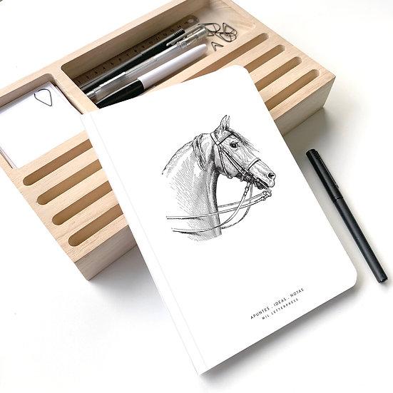 Cuaderno Rayado Caballo A5