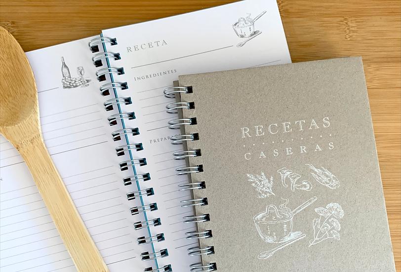 Cuaderno de Recetas Caseras