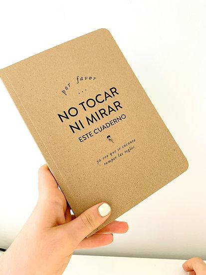 Cuaderno Kraft NoTocar