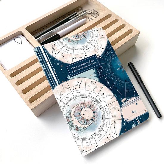 Cuaderno Rayado Astrología A5