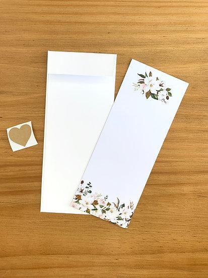 Tarjetón De Saludo Magnolia