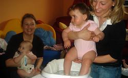 """WS: """"Kneippen für Babys"""""""