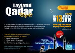laylatul qadr event