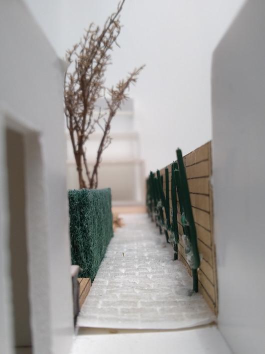 Maquette jardin de ville