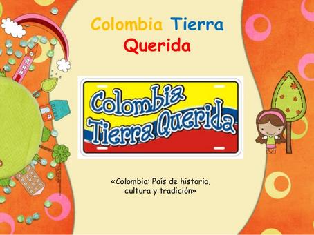 Semana 14 Lúdica cultural  Tema: Colombia