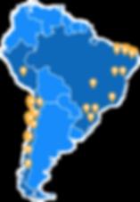 Routing, ruteo, LATAM, clientes, rutas, planificación, Chile