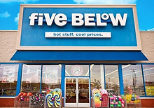 Five Below to sell products that are ove