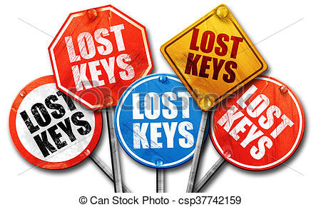 Lost keys logo
