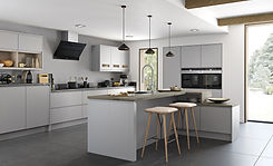 strada-matte-painted-light-grey-kitchen-