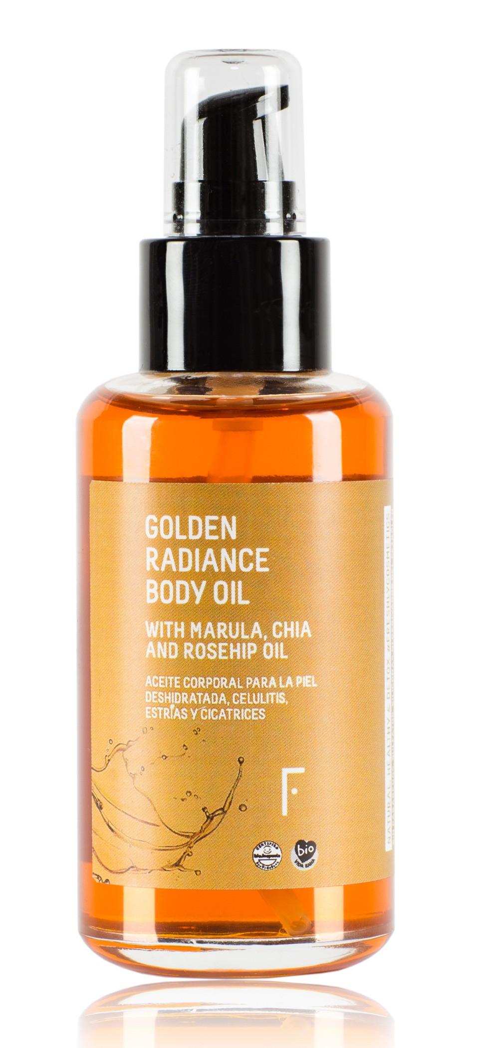 Golden Radiance Body Oil de Freshly