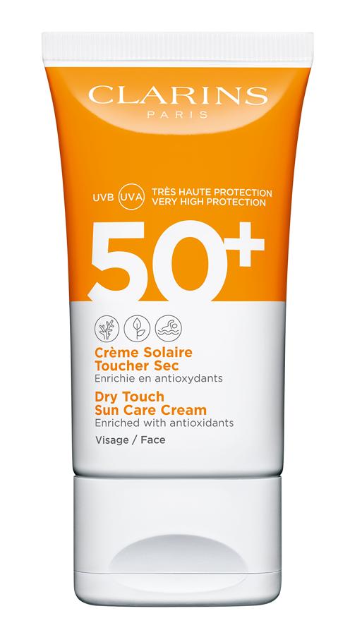 Crème Solaire Toucher Sec SPF 50+,deClarins
