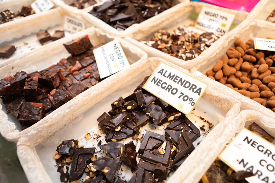 Chocoloate artesano ecológico en VeggieWorld Barcelona 2018