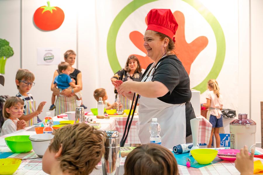 Talleres de cocina para niños en Biocultura 2019